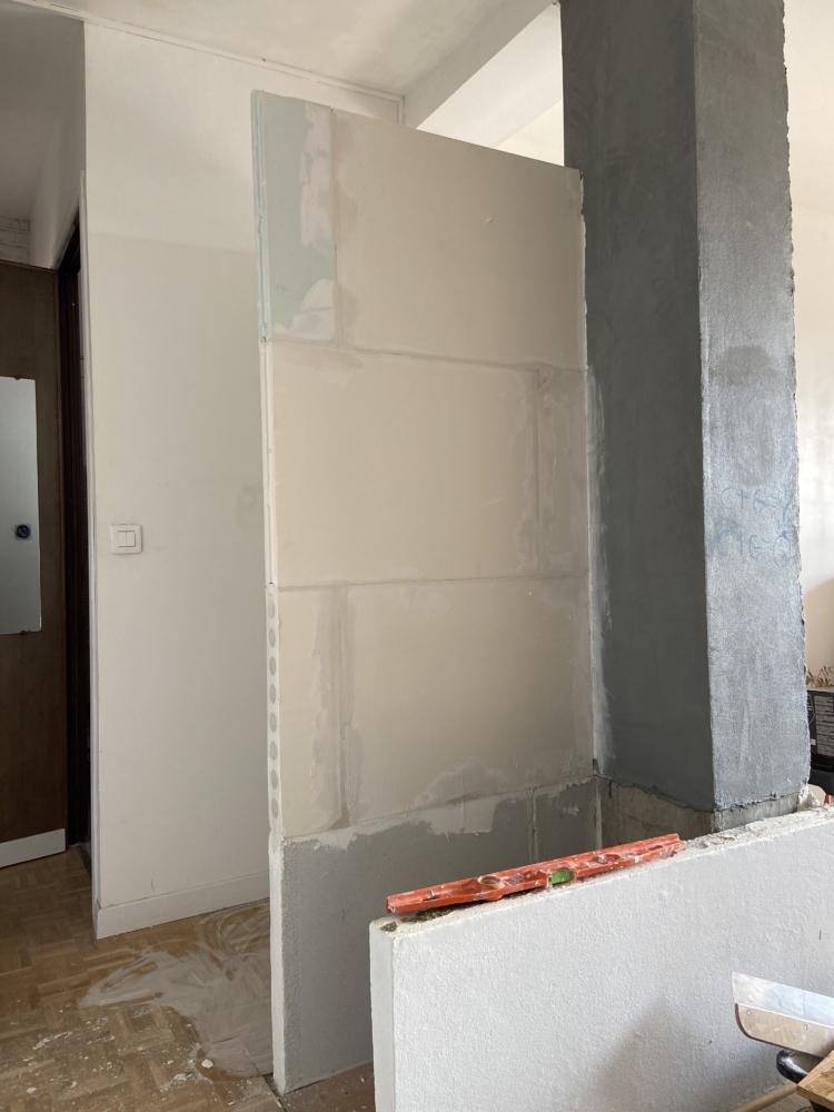 Rénovation PROJET HONORE SERRES